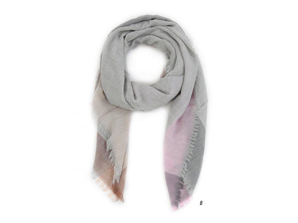 šátek unisex pánský dámský 100% vlna