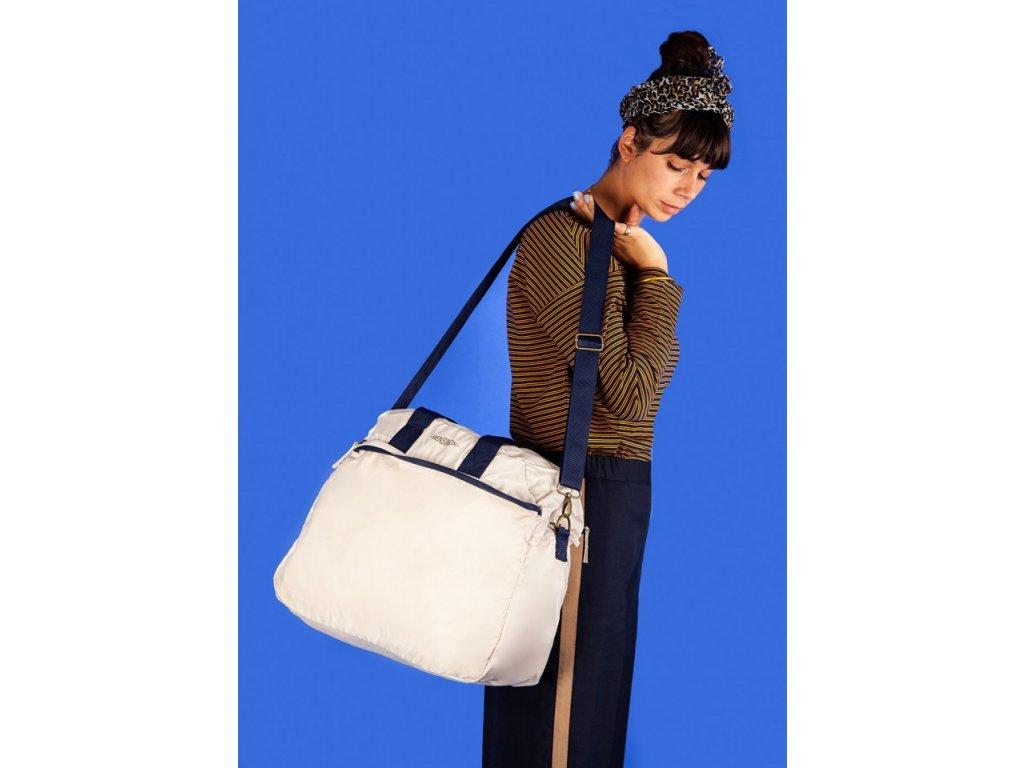 Tašky BENSIMON cestovní taška Tourbag bílá