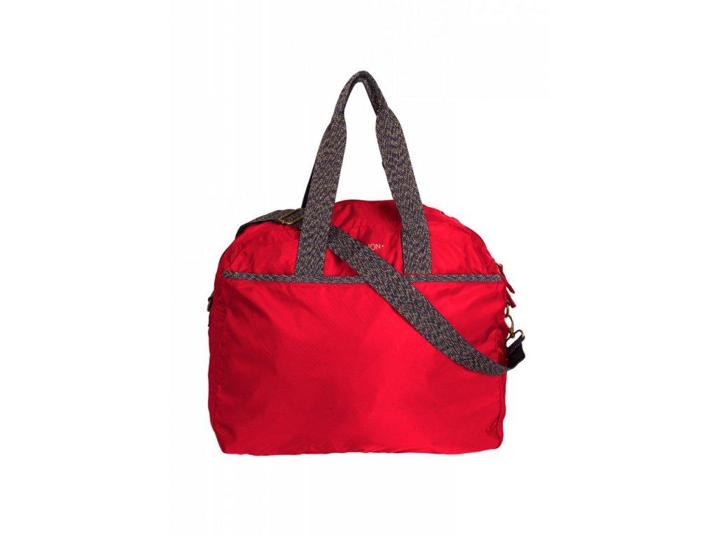 Tašky BENSIMON cestovní taška Tourbag červená