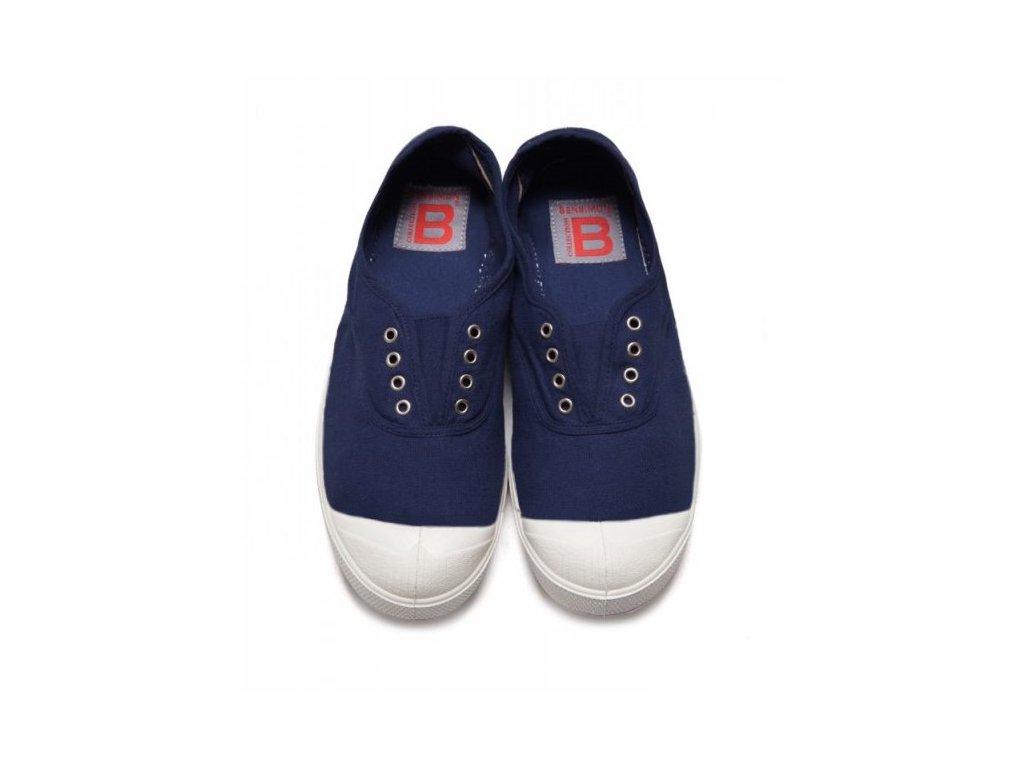boty obuv unisex Tenisky Tennis Elly BENSIMON tmavě modrá / s gumou přes nárt