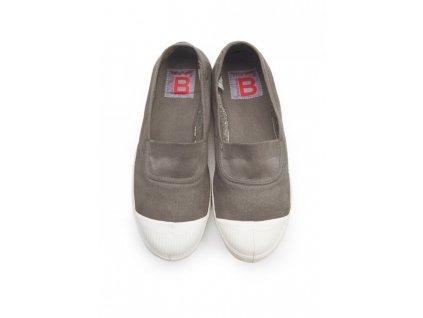 Boty obuv BENSIMON Balerínky Tennis Elastique písková béžová