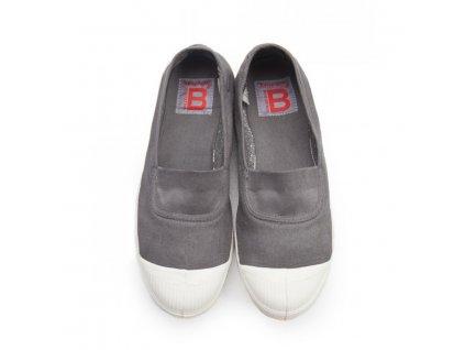 Boty obuv BENSIMON Balerínky Tennis Elastique šedá