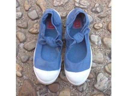 Boty obuv BENSIMON Balerínky Tennis Flo modrá