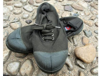 Boty obuv barevná podrážka colorsole BENSIMON unisex Tenisky Tennis Militaire khaki