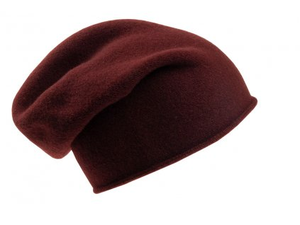Vlněná čepice pletená Otigirita TONAK hnědá