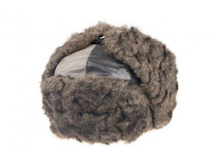 Zimní čepice Beranice Ušanka TONAK / šedá, hnědá, béžová