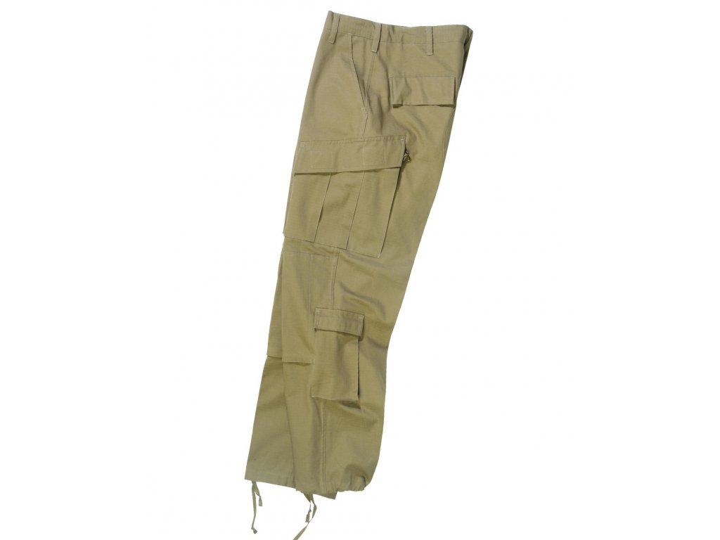 Kalhoty US typ ACU rip-stop COYOTE