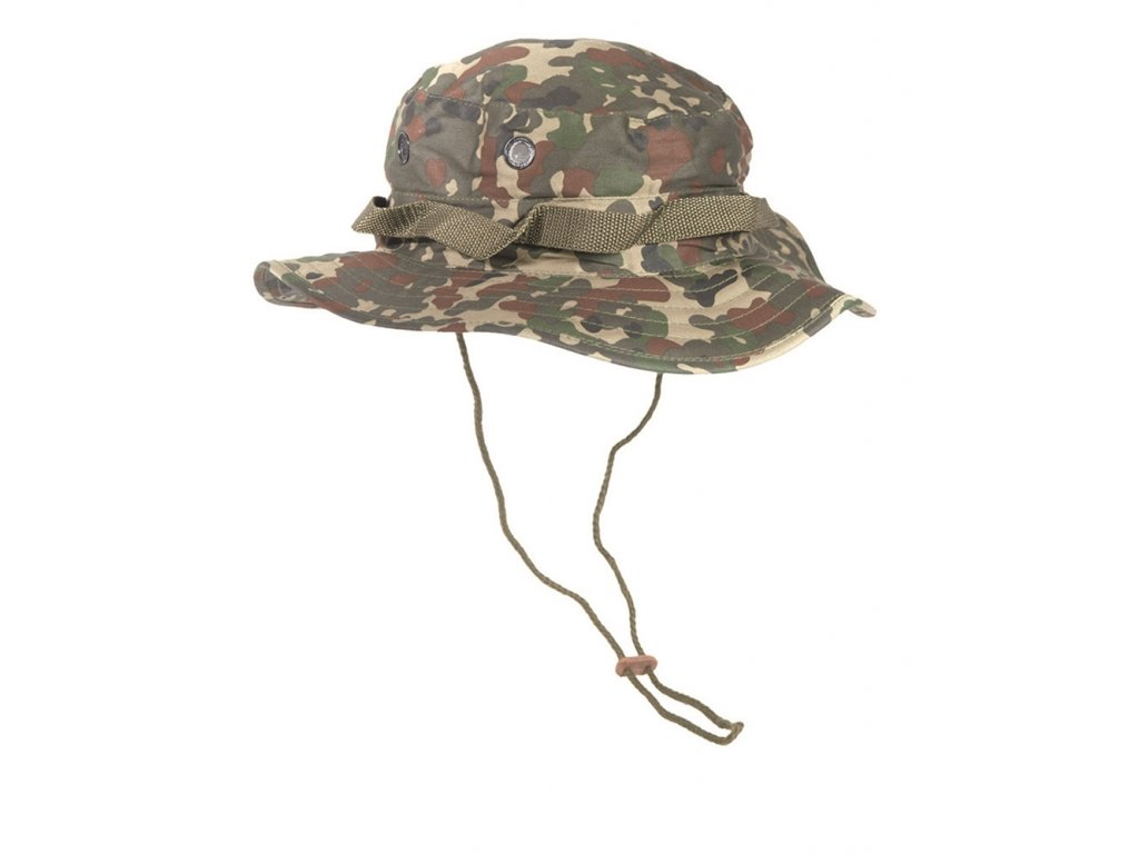 Klobouk US JUNGLE FLECKTARN
