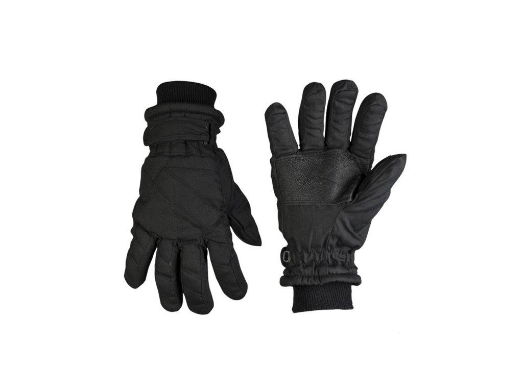 Rukavice prstové Thinsulate™ zateplené ČERNÉ
