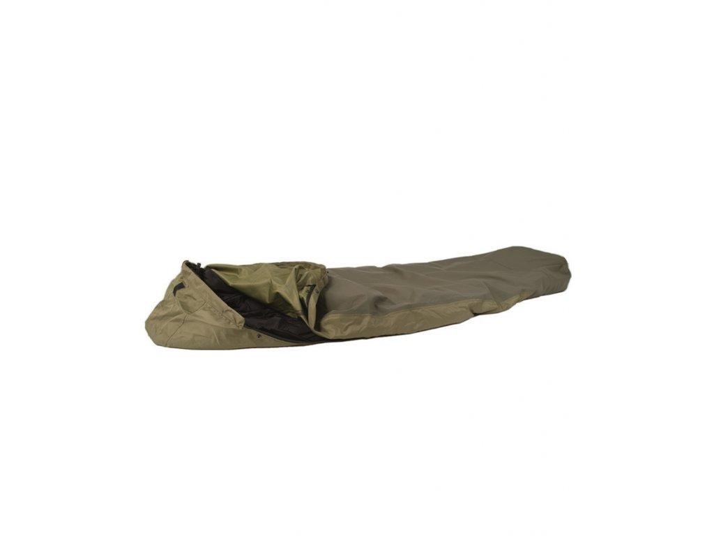 Převlek na spacák MODULAR z vrstveného laminátu ZELENÝ