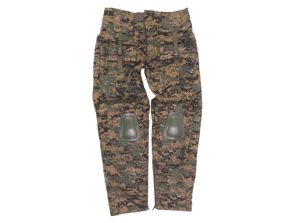 Kalhoty taktické WARRIOR DIGITAL WOODLAND