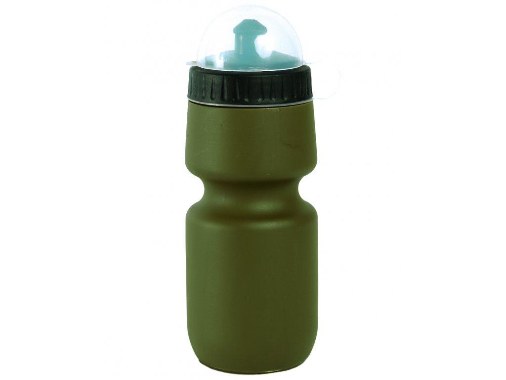 Láhev na pití lehká plastová 0,5l ZELENÁ