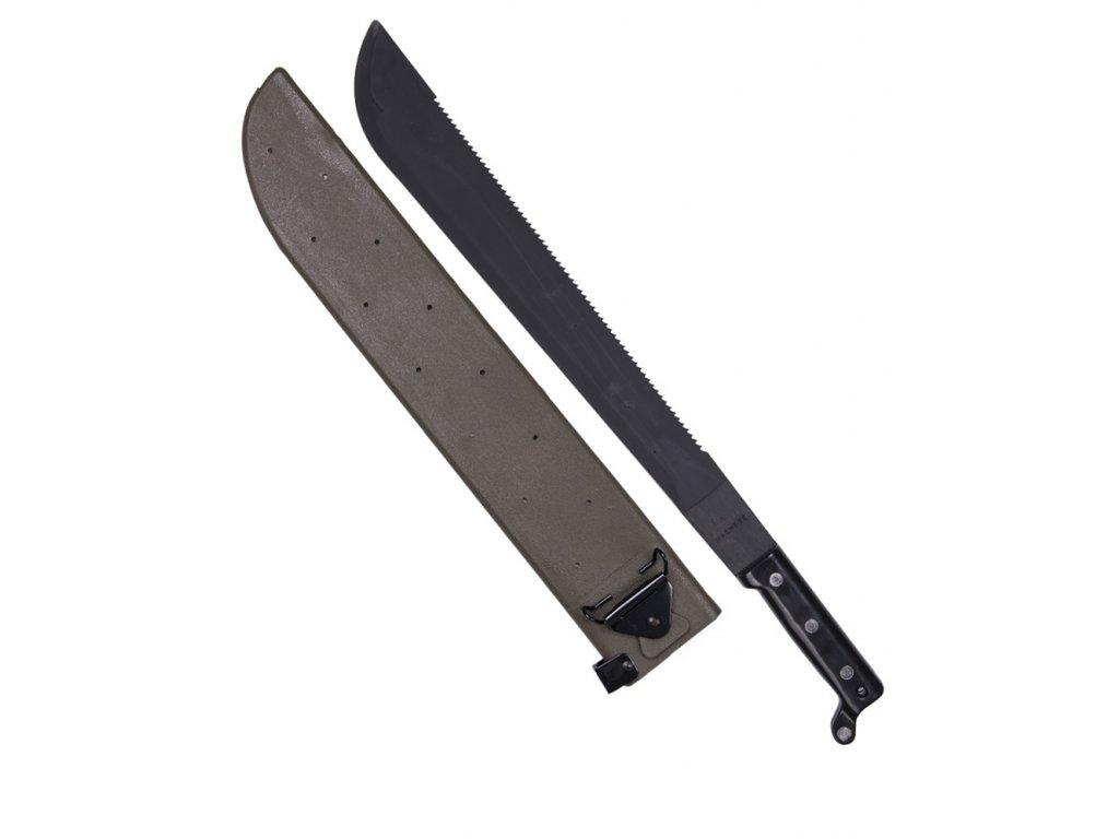 Mačeta US s pilou v plastovém pouzdru