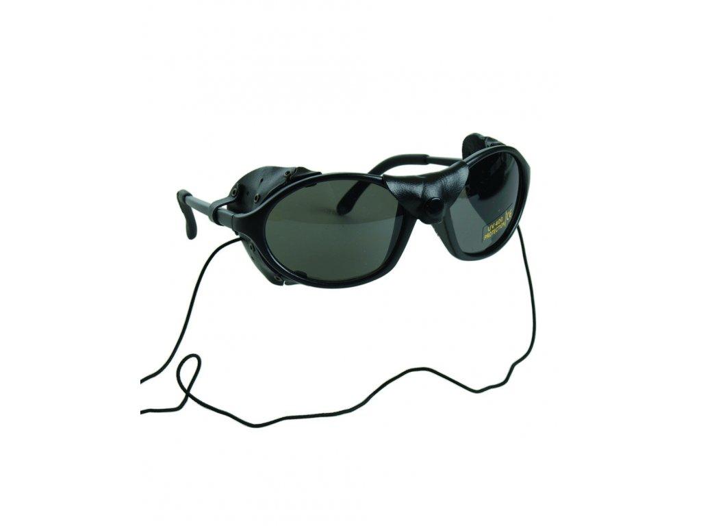 Brýle ledovcové s ochranou nosu proti větru a slunci