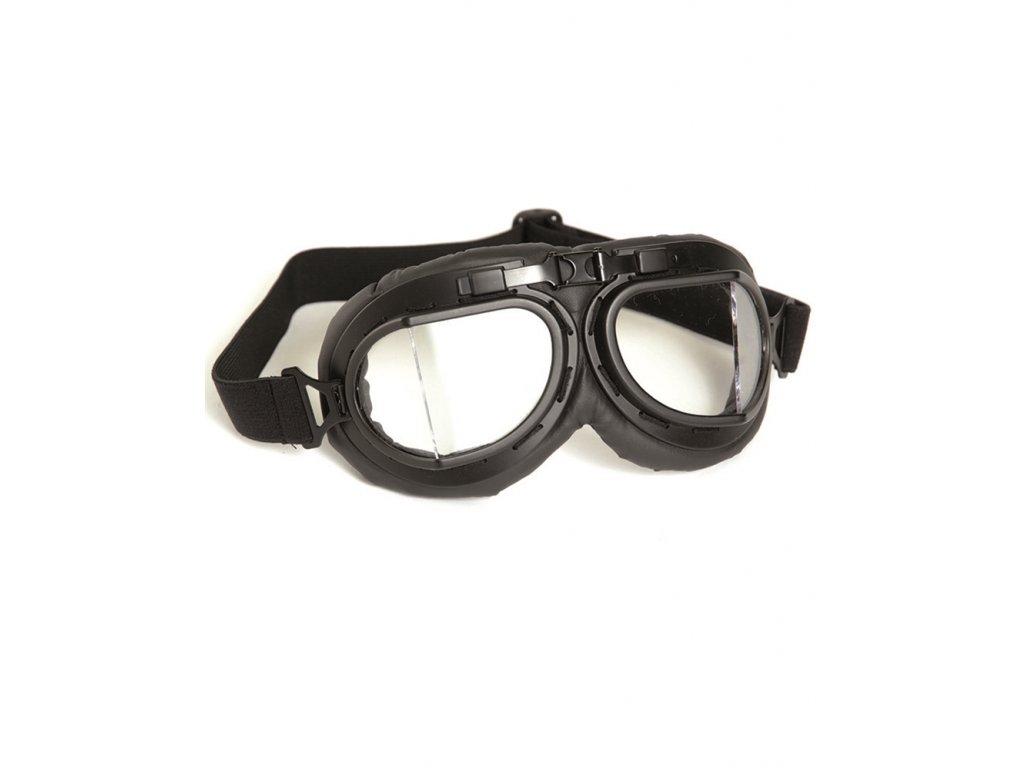 Brýle typ RAF pilotní ČERNÉ