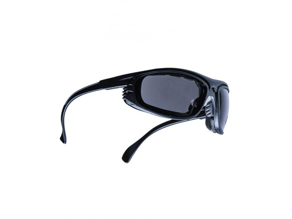 Brýle WARRIOR UV 400 ČERNÉ + pouzdro ZELENÉ