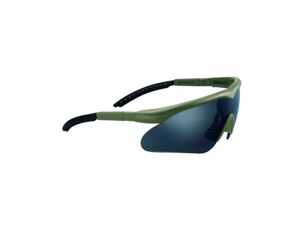 Brýle ochrané SWISS EYE® RAPTOR ZELENÉ