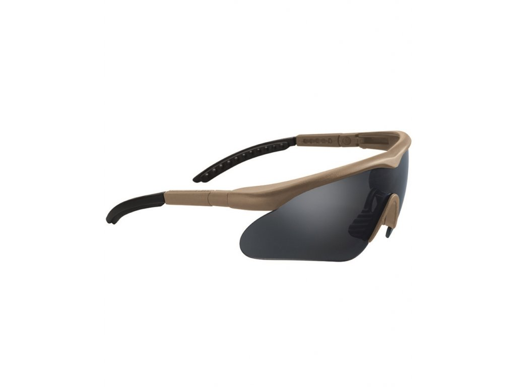 Brýle ochrané SWISS EYE® RAPTOR COYOTE