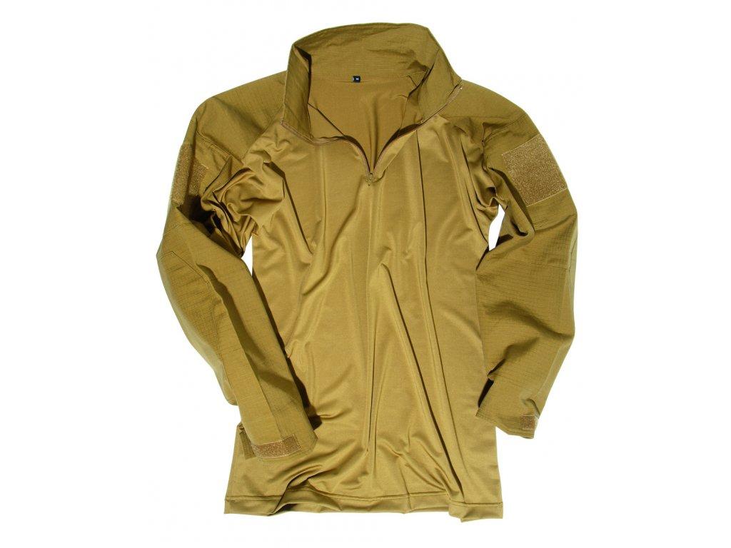 Košile taktická s límečkem COYOTE