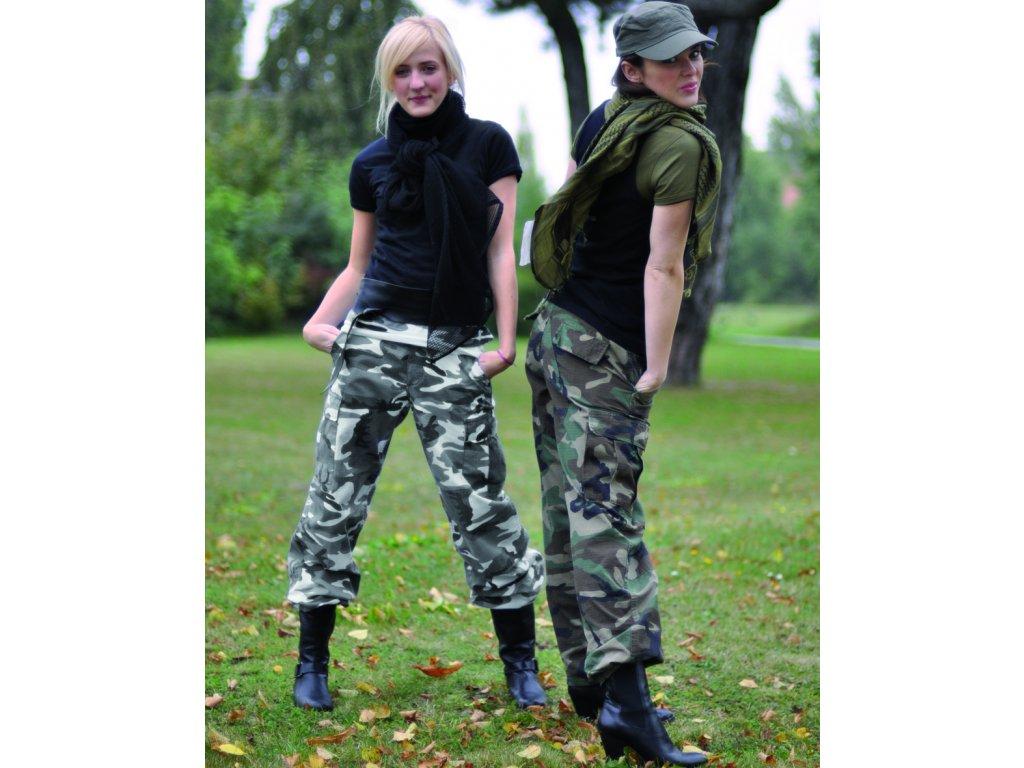 Kalhoty dámské US BDU rip-stop předeprané METRO - URBAN