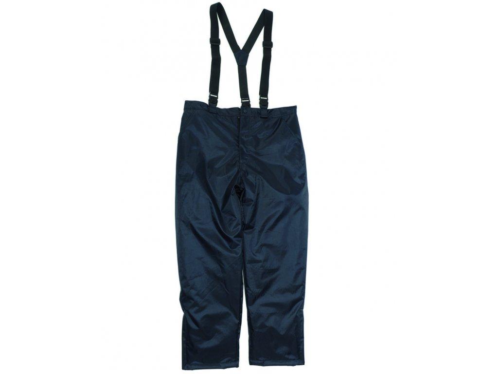 Thermo kalhoty s kšandami MODRÉ