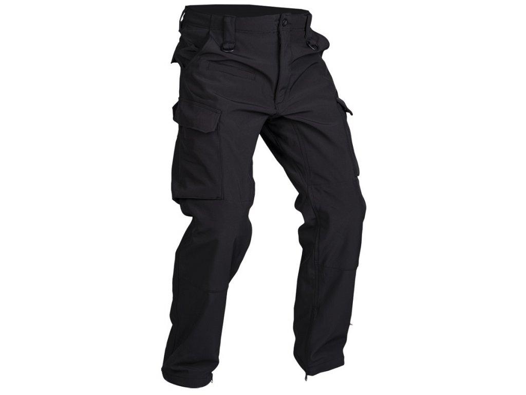 Kalhoty softshellové EXPLORER ČERNÉ