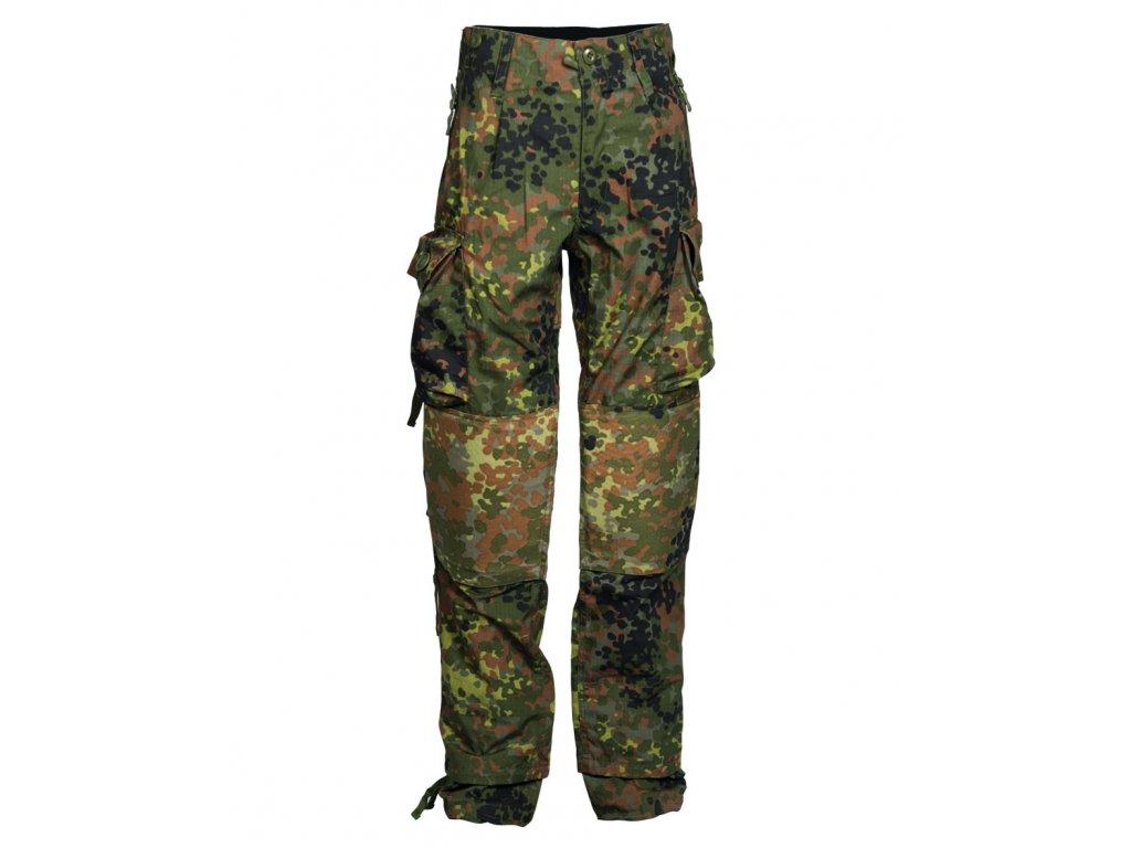 Kalhoty KOMMANDO TEESAR Gen.II BW FLECKTARN