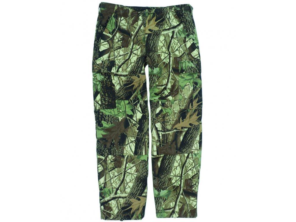 Kalhoty US BDU POLY polní HUNTING CAMO