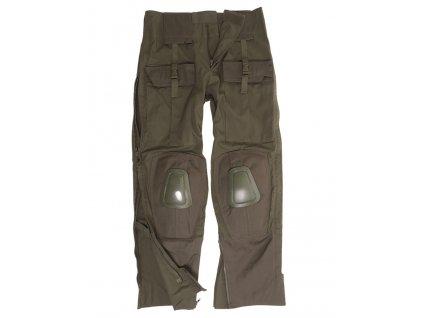 Kalhoty taktické WARRIOR ZELENÉ