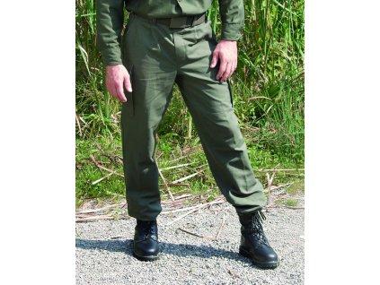 Kalhoty BW typ moleskin originál ZELENÉ