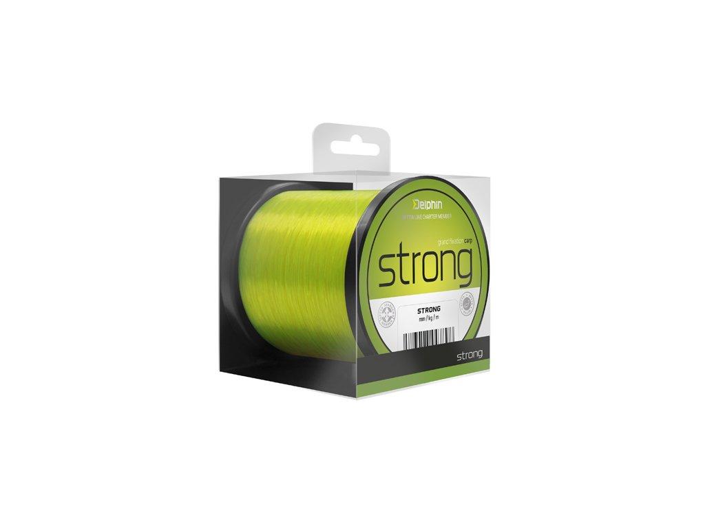 Fin Strong Carp žlutá600m 0,32mm 19,4 lb