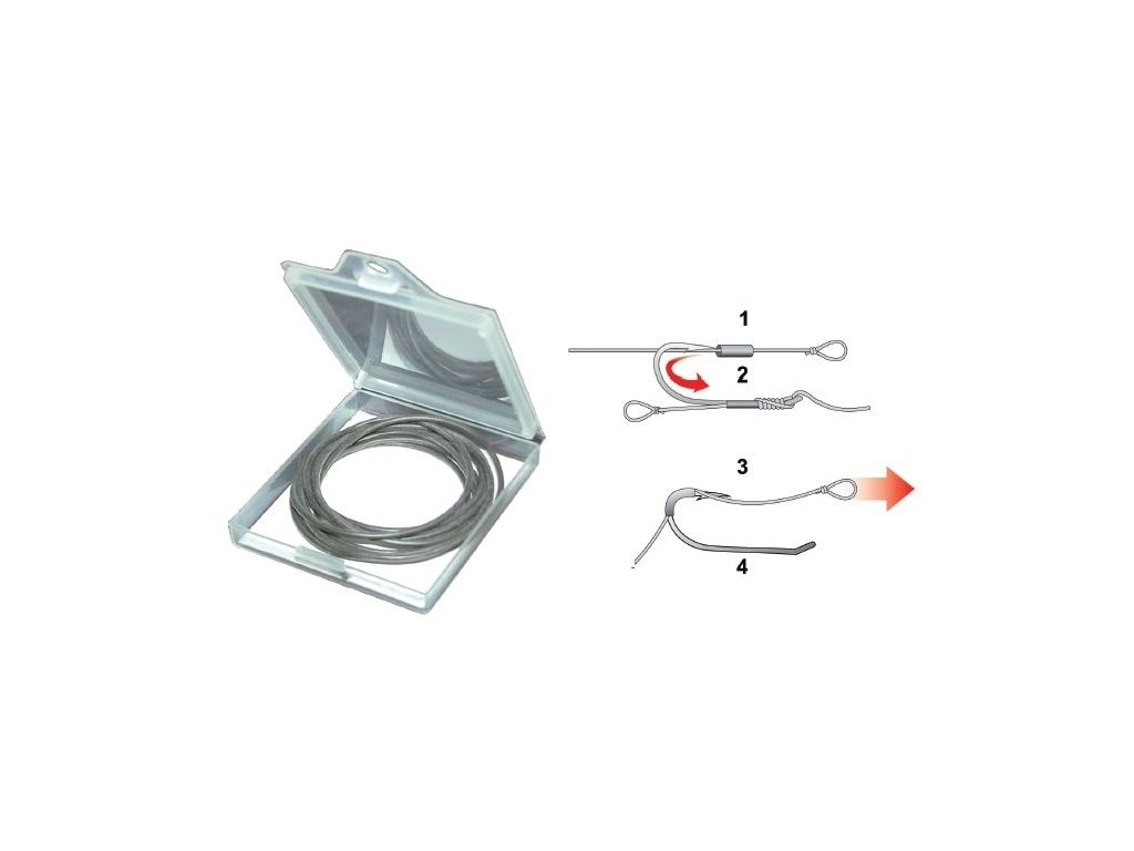 Extra Carp Silicone Tubing 0,5 mm/ 1m
