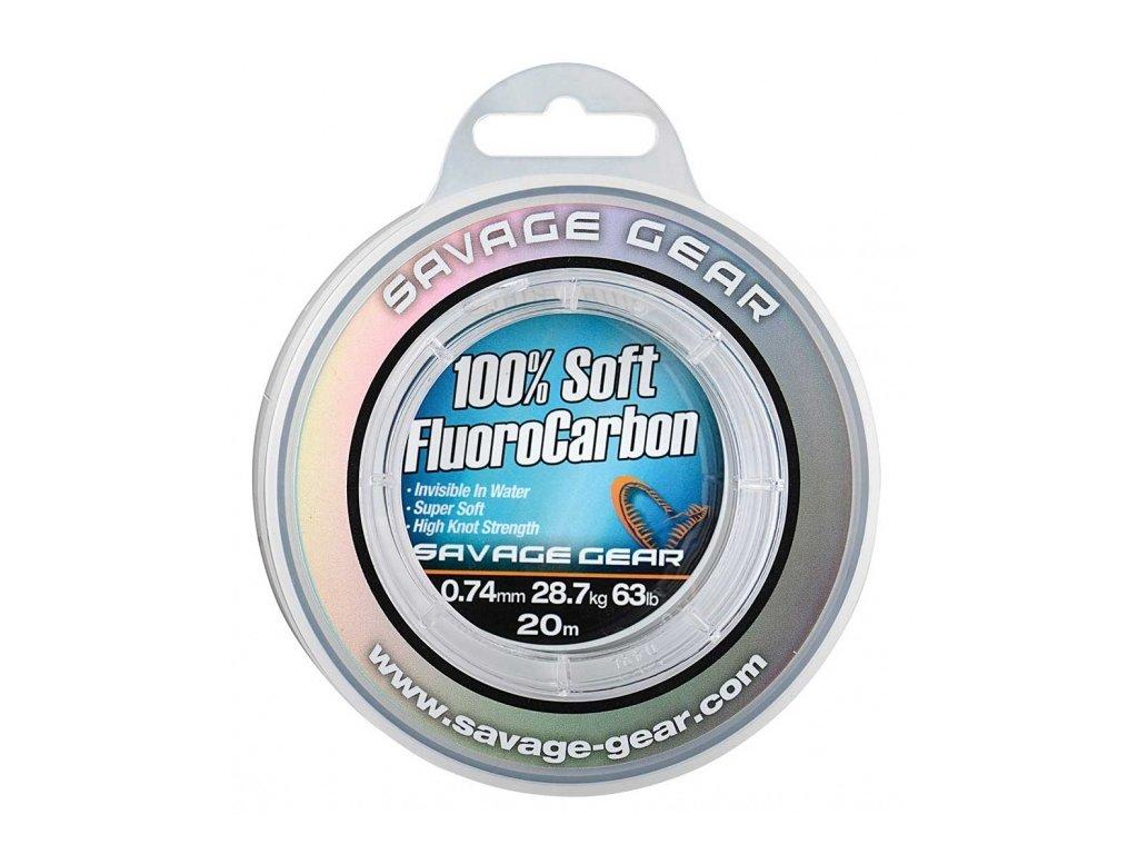 100% Soft FluoroCarbon 0,26mm 50m