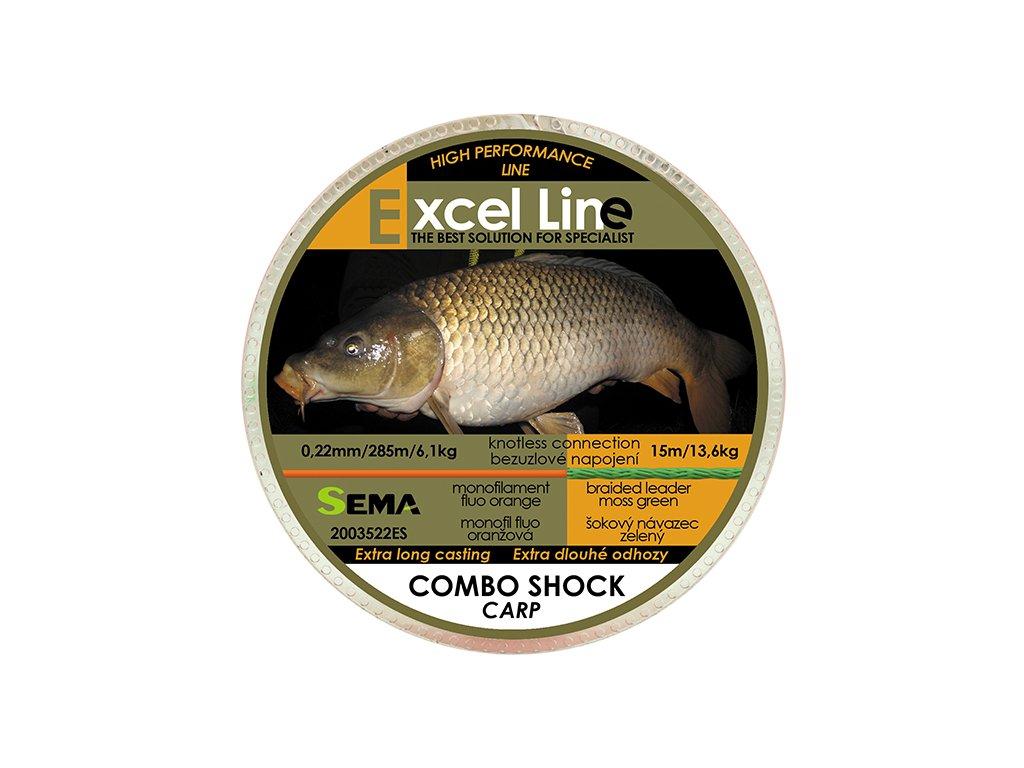 Combo Shock Carp 0,25mm