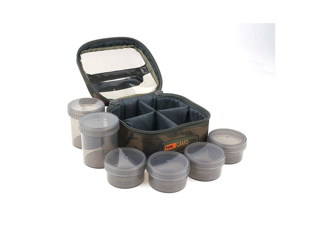 Fox Pouzdro Camolite Glug 6 Pot Case