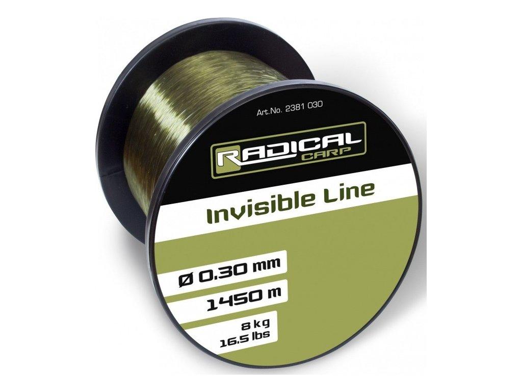 Vlasec Radical Invisible 1450m 0,30mm