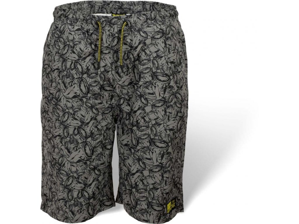 Plavky Black Cat Beach Shorts M