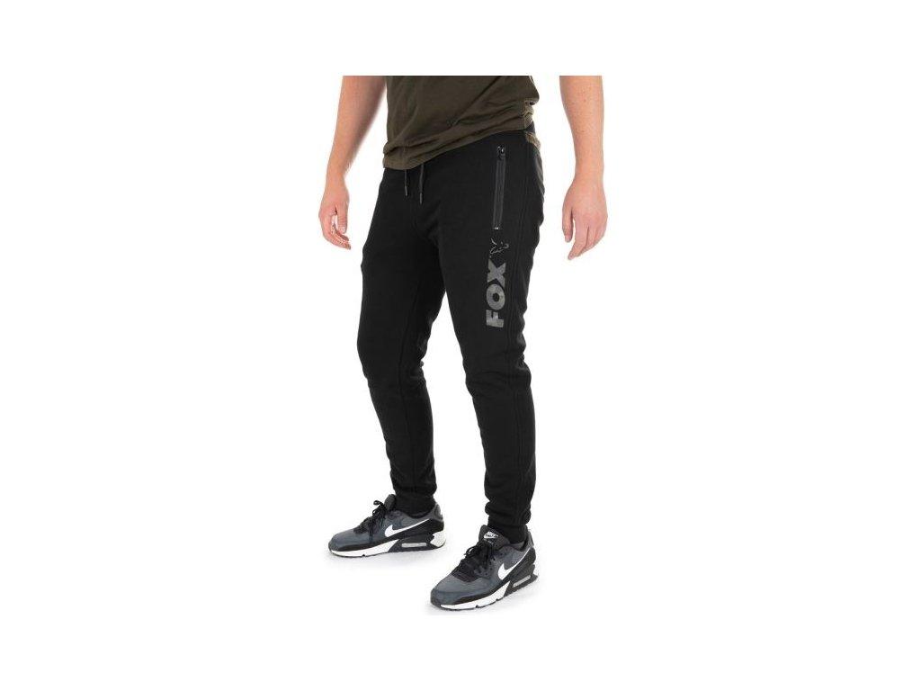 Tepláky Fox Black/camo jogger XL