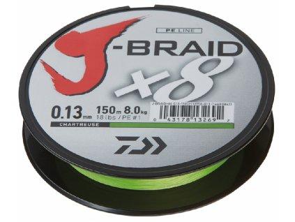 Šňůra Daiwa J-Braid 0,16mm 150m