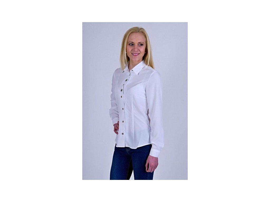 Luko dámská košile dlouhý rukáv s výšivkou - Bohemialov 214eb27f27