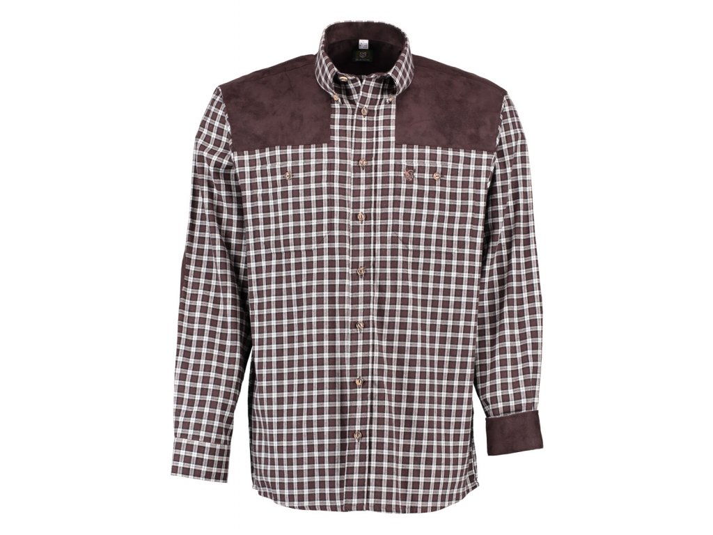 92dcb50bd589 Pánská flanelová košile Trachten - Bohemialov