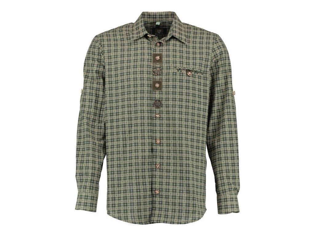 Trachten pánská košile ozdobná