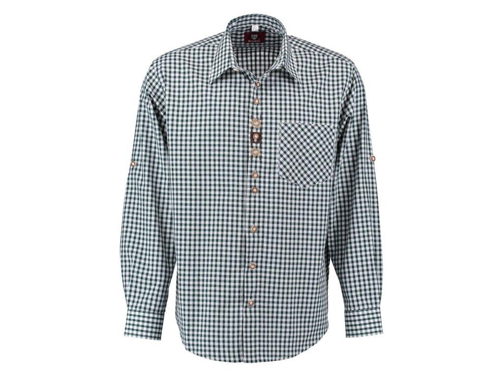 Trachten pánská košile s výšivkou