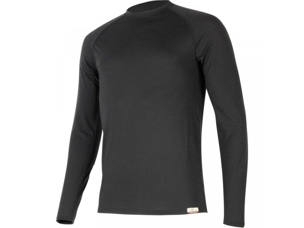 Lasting vlněné merino triko ATAR 9090 černá