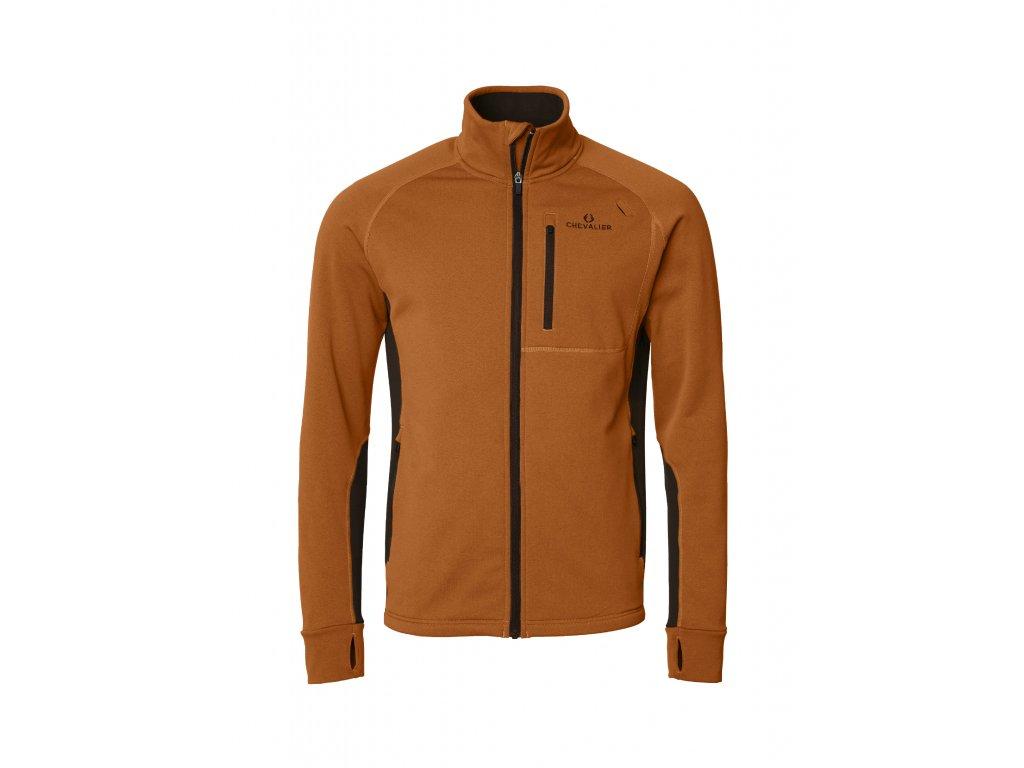 Tay Fleece W Orange/Brown