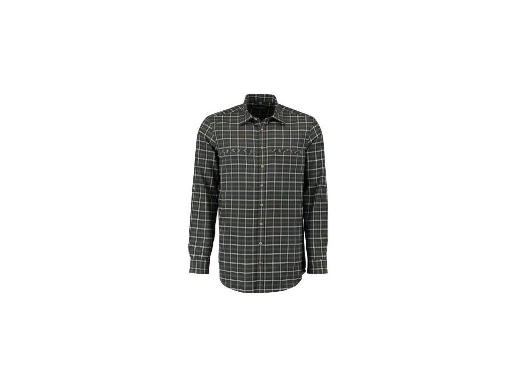 Tom Collins pánská košile tmavě zelená