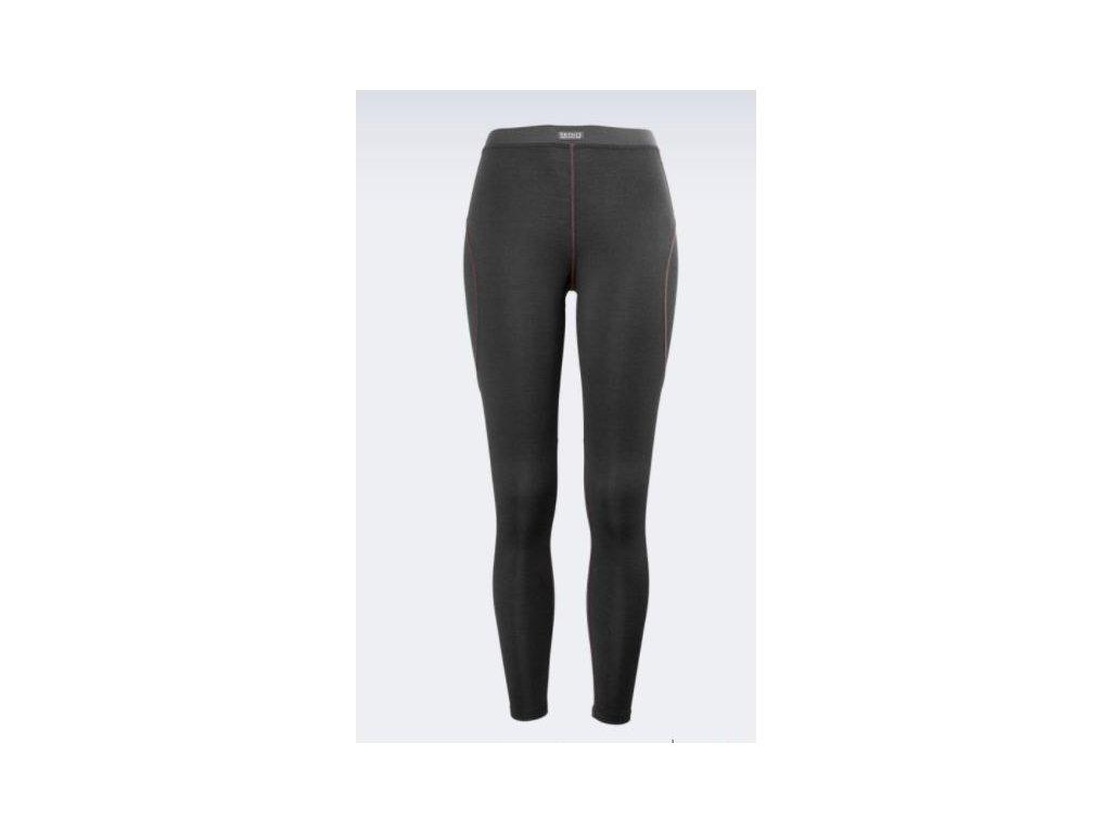 dámské spodky BRYNJE Lady Classic Wool Longs, černé