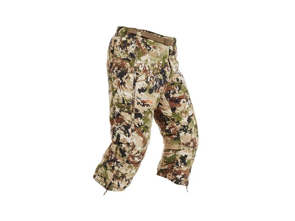 Kalhoty Sitka Kelvin Lite Down 3/4 Pant Optifade Subalpine