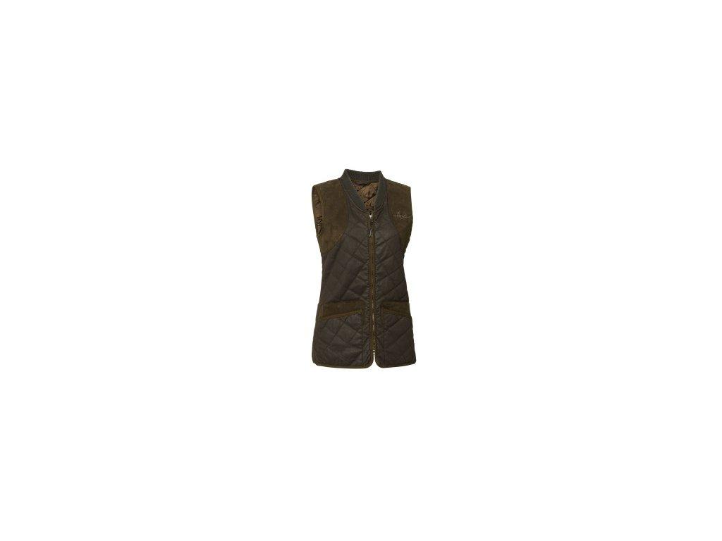 Vintage Quilt Waistcoat Lady