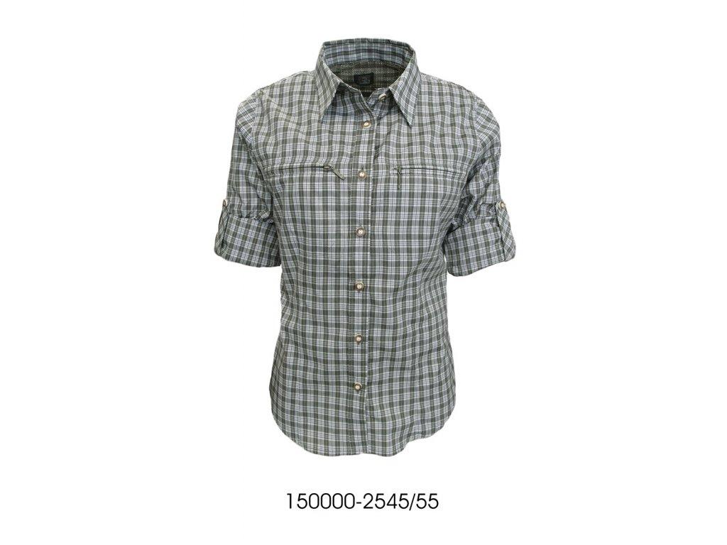 ba0cda628f9 Trachten dámská košile zip krátký rukáv - Bohemialov